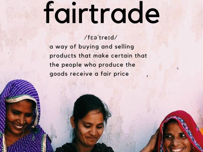 Manju, Laxmi and Basanti together under fairtrade title